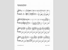 The DayMy Hero Academia OP Free Piano Sheet Music & Piano