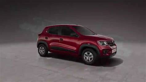 renault kwid red colour 2015 renault kwid colour flame red automototv youtube