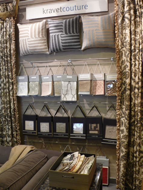 kravet couture showroom display  workroom couture home
