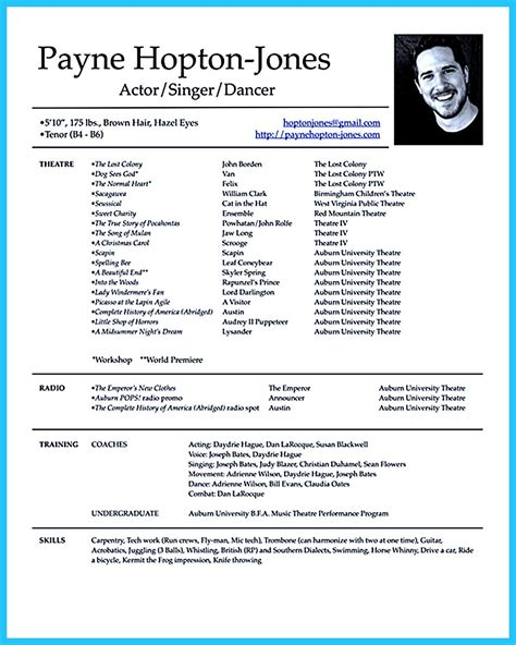 c cast to template actor resume template gives you more options on how to