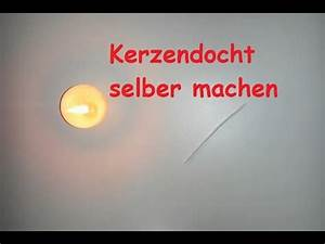 Selber Videos Machen : kerzendocht selber machen docht f r selbstgemachte kerzen selbst herstellen diy tutorial ~ Watch28wear.com Haus und Dekorationen