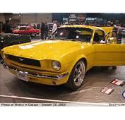 Yellow 65 Mustang  BenLevycom