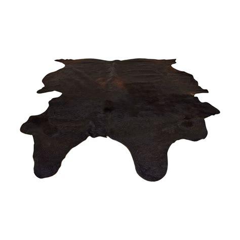 Koldby Cowhide Rug 68 ikea ikea koldby black cowhide rug decor