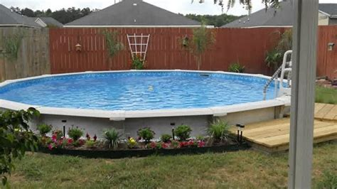 Above Ground Pool Landscape Design Ideas