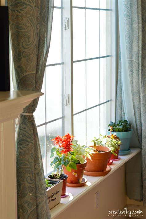 Window Sill Plant Shelf by Diy Removable Window Shelf For Plants Created By V