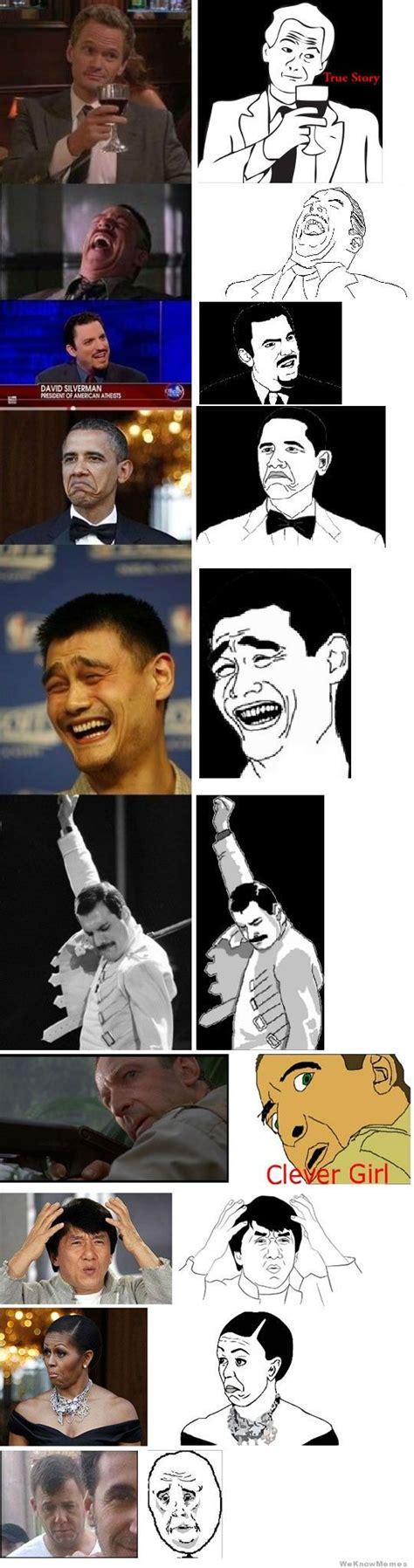 Meme Face Origins - image gallery original meme faces why