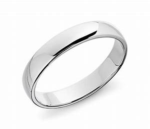 Classic Wedding Ring In 14k White Gold 5mm Blue Nile
