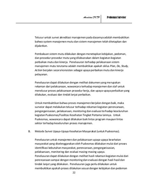 Pedoman survey akreditasi_puskesmas_dan
