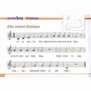 Meine bunten Noten für das Glockenspiel Bekannte beliebte Kinderlieder