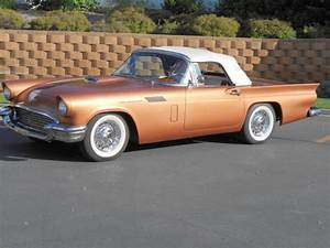 1957 Ford Thunderbird Convertible   Hardtop 312 V8 3 Speed