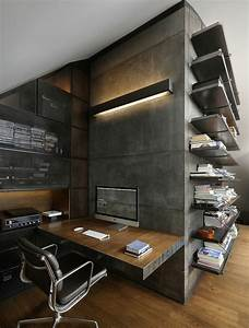 Bureau Style Industriel : le mobilier de bureau contemporain 59 photos inspirantes ~ Teatrodelosmanantiales.com Idées de Décoration