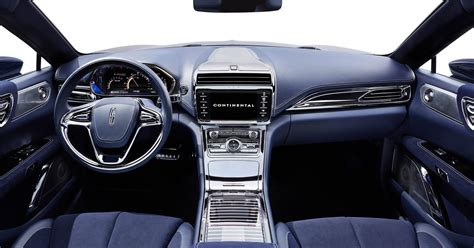 lincoln continental concept revealed previews  model