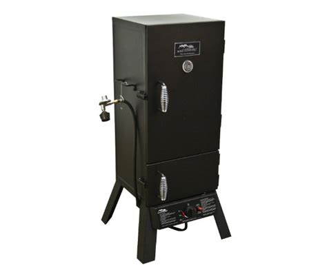 masterbuilt  door propane smoker barbecuebiblecom