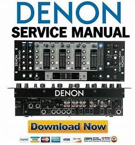 Denon Dn-x500 Reparaturanleitung