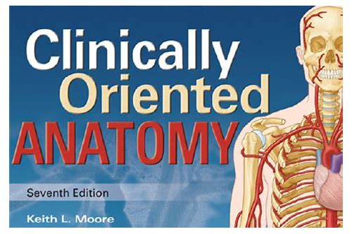 moore clinical anatomy 6th edition download