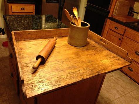 fabulous primitive table top  stove top dough board