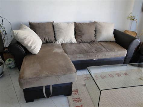 canape daim achetez canapé d 39 angle occasion annonce vente à mandelieu