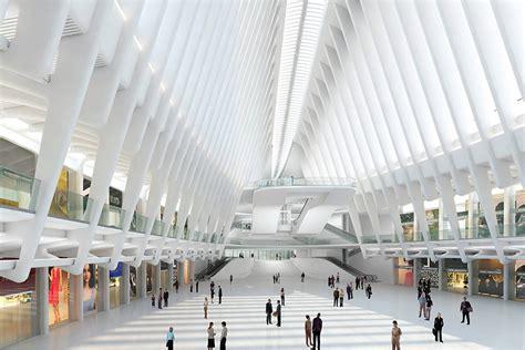 santiago calatravas world trade center transportation hub soars leapsand leaks archpapercom
