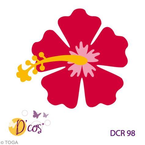 vaisselle de cuisine die d 39 co fleur hibiscus 1 matrice de découpe matrice