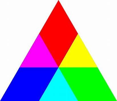 Triangle Clipart Rgb Mix Cliparts Rainbow مثلث