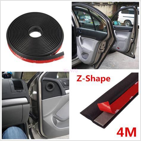 4m Ztype Car Body Door Rubber Seal Hollow Strip Pad