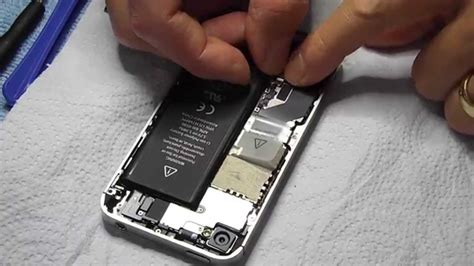 iphone 4 battery replacement apple iphone 4 4s battery replacement step by step