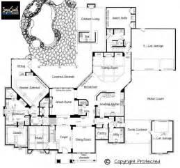 luxury custom home floor plans plan 7500 italian villa