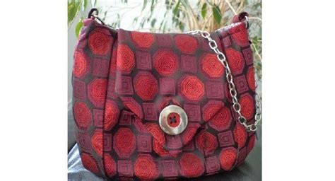 tutorial repurposed neck tie purse sewing