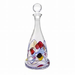 Carafe à Vin Cristal : carafe vin capitaine cristal de boh me vessiere cristaux ~ Teatrodelosmanantiales.com Idées de Décoration