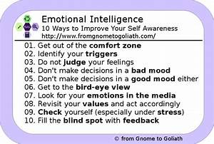 Emotional Intelligence - 10 Ways to Improve Your Self ...
