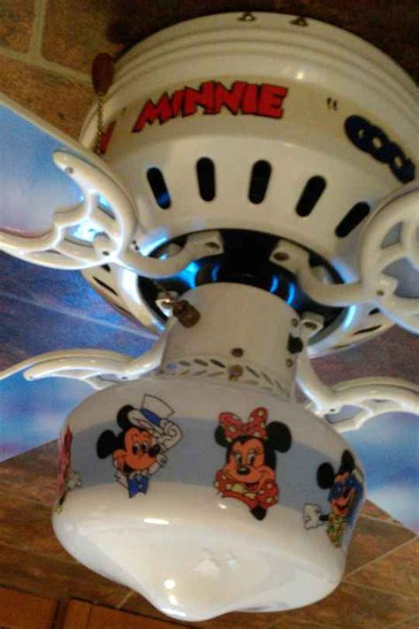 Mickey Mouse Ceiling Fan Blades by Mickey And Minnie Mouse Disney 1988 Ceiling Fan Model