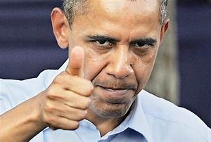 Image Gallery obama thumbs up
