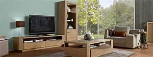Meuble Salon Bois : mobilier contemporain meubles bois massif ~ Teatrodelosmanantiales.com Idées de Décoration