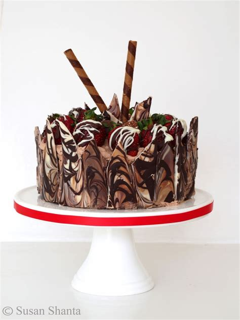 Stik Loli Popcake Coklat chocolate cake choc shard side decoration wrap choc