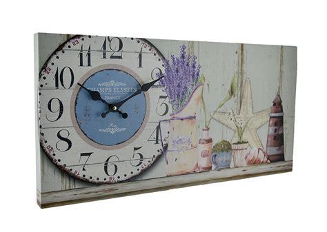 Beach Themed Decorative Wood Wall Clock