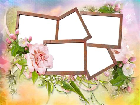 birthday collage frame png transparent images png