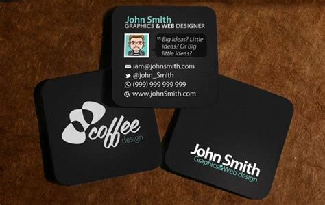 40 Creative Mini Square Business Cards Design Photo Water Business Card Designs Images Online Anniversary With Pictures Download Ideas For Bartenders Plasterers Types Of