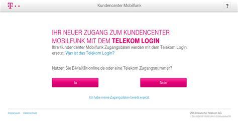 telekom login rechnung telekom kundencenter kompass