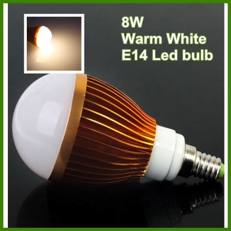 800lm warm light e14 8w globe led bulb light l bright
