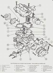 Exploded View Weber 32  36 Dgv Carburateur -