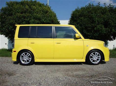 scion yellow 2005 scion xb release 2 0 envision auto