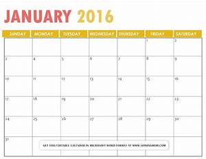 free printable microsoft word calendars 2016 calendar With free downloadable calendar templates for word