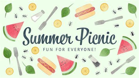 summer picnics summer picnics