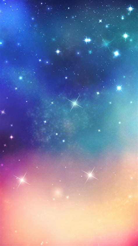 shiny fantasy ouer space smartphone wallpapers hd getphotos