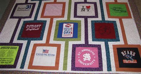 t shirt quilt pattern keepsakesewing t shirt quilt for graduation