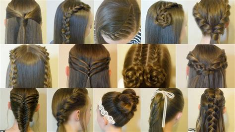 14 Cute and Easy Hairstyles for Back to School!   Hair