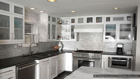 Kitchens Ideas With White Cabinets by Marble Backsplash In Kitchen With White Cabinets