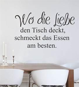 Sprüche Für Die Küche : wandtattoo wandsticker wandaufkleber k chenwandtattoo ~ Watch28wear.com Haus und Dekorationen