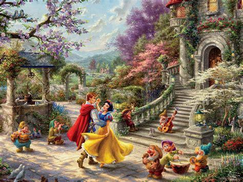 Thomas Kinkade Disney - Snow White Sunlight 750 Piece ...