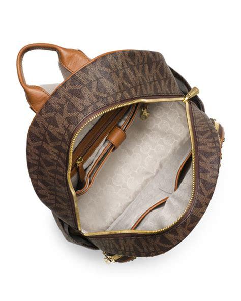 michael michael kors large jet set studded backpack